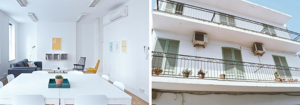 diferencias entre split de techo y split de pared