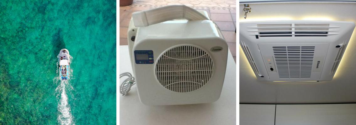 Conoce los diferentes tipos de aire acondicionado para barcos