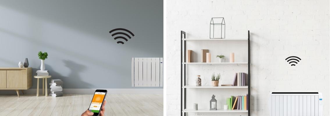 radiador eléctrico, un plus si además se puede controlar por wifi.