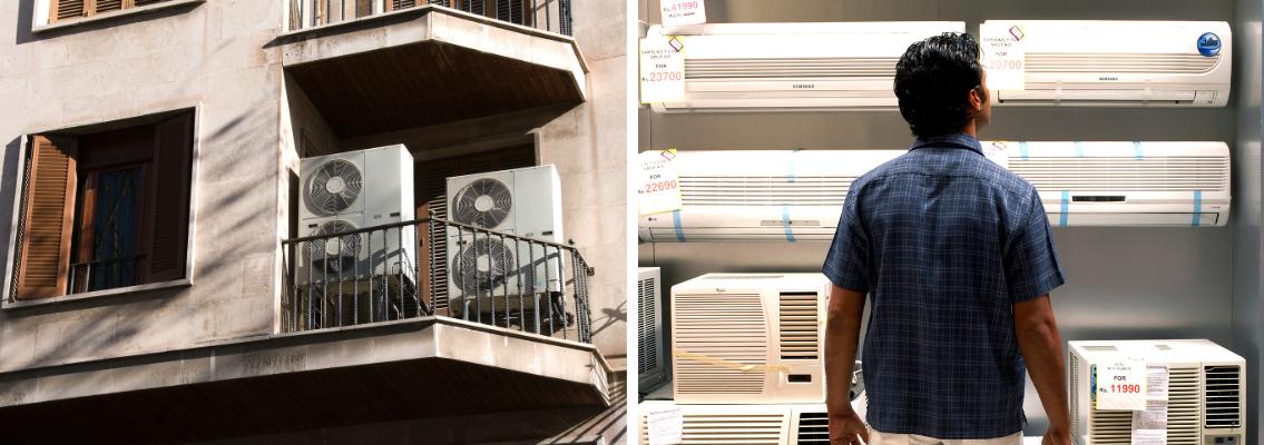 Te damos consejos sobre qué tipos de aire puedes comprar